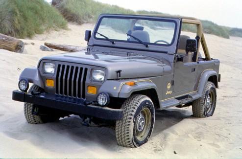 1988 Jeep YJ Wrangler Sahara