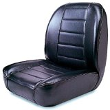 Rugged Ridge 13400.01 Standard Black Low Back Front Seat