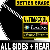 Jeep Wrangler 2DR 08 2008 Precut Window Tint - 99% UV + 50X Stronger Black Box UltimaCool DUO - F35R35