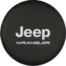 Jeep wrangler tire cover