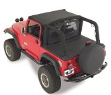 Rampage 761015 Denim Black Soft Top Tonneau Cover