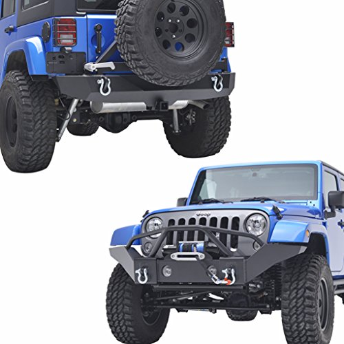 Jeep wrangler winch