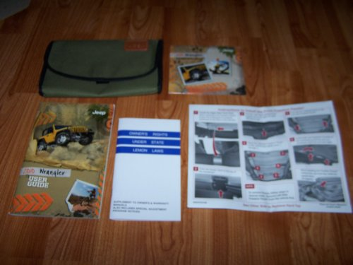 Jeep wrangler owners manual