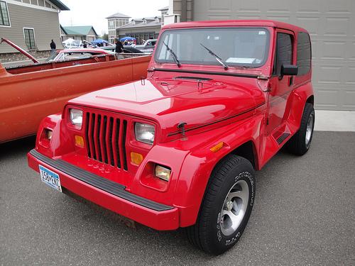 91 Jeep Wrangler
