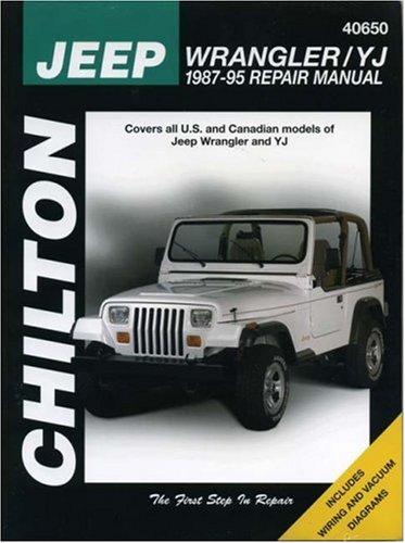 Jeep wrangler repair manual