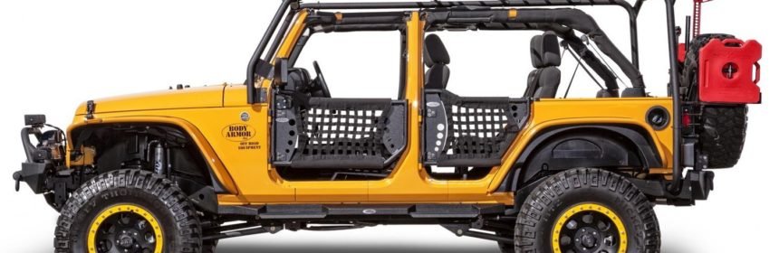 Body Armor 4x4 JK-6124-2 Roof Rack - Box 2 of 2