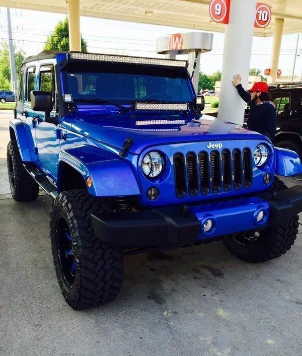 2019 jeep wrangler rubicon unlimited jl ocean blue