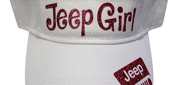 Glitter Jeep Girl Cotton Visor Fashion Offroad Four Wheel