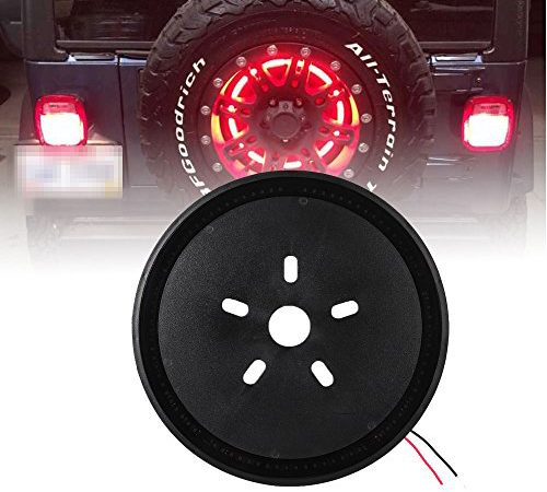 3rd Spare Tire Brake Light Led Ring For 97 17 Jeep
